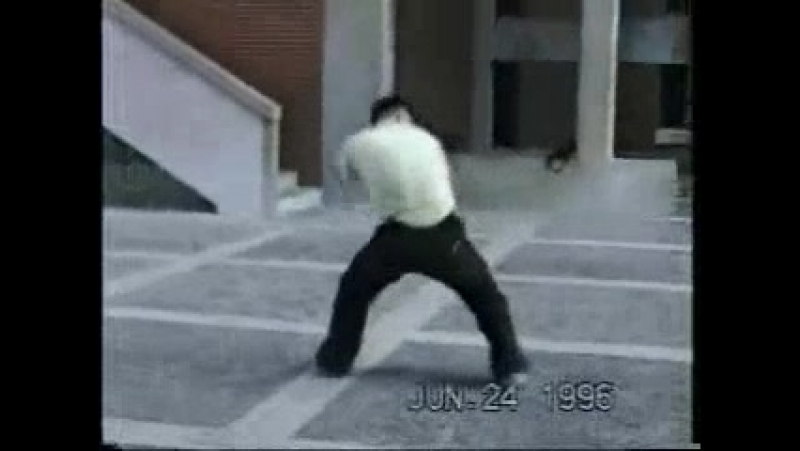 Люхэ Tanglangquan форма Дуань Чуйской 六合 螳螂拳 短 捶