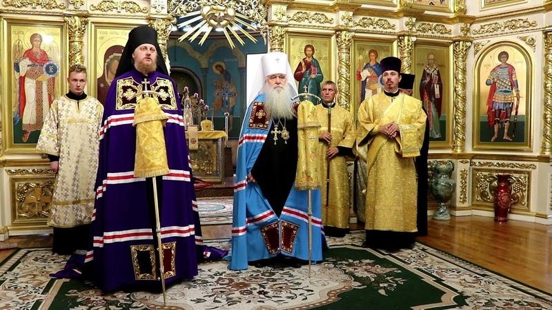 Викарий Волгоградской епархии епископ Городищенский Феоктист