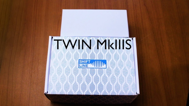 Shift-Line TWIN MkIIIs preamp unboxing