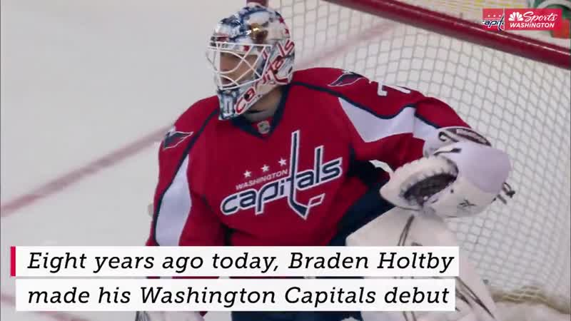8 years ago today Holtby made his Capitals debut