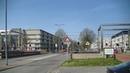 Spoorwegovergang Rotterdam Dutch railroad crossing