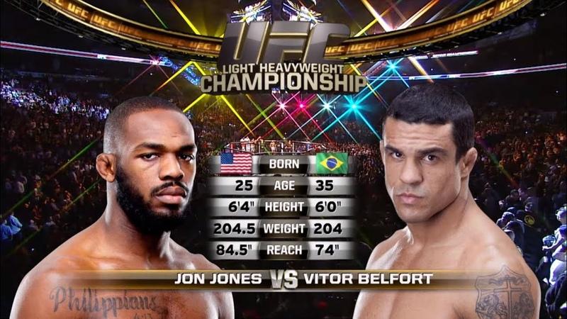 UFC 239 Free Fight Jon Jones vs Vitor Belfort