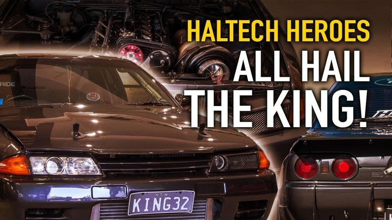 KING32 Worlds Fastest Radial GTR - Haltech Heroes