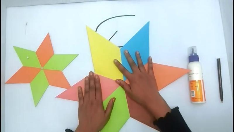 Easy Origami Star Tutorial (2018) || 6 Point Ninja Star || Paper Craft For Kids