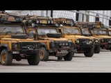 110 Scale Land Rover DEFENDER 90110 Off Road Camel Trophy in Korea