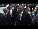 Ramaphosa, deputies arrive at new parliament in Cape Town