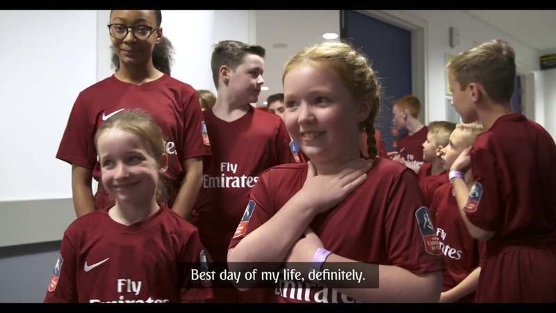 Emirates FA Cup Final 2018 Mascots Emirates Airline