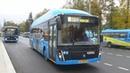 Первая поездка на городском электробусе ЛиАЗ 6274 Московский Транспорт