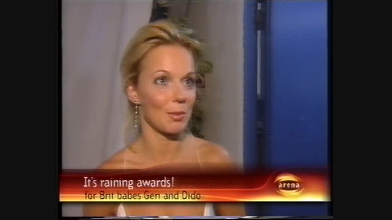 Geri Halliwell - NRJ Awards 2002 - Arenatainment 19.01.2002
