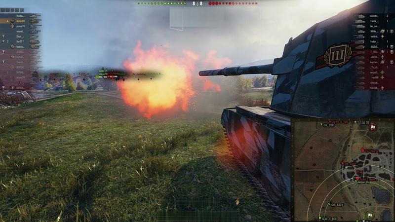 Самонаводящиеся Снаряды FV4005 World of Tank