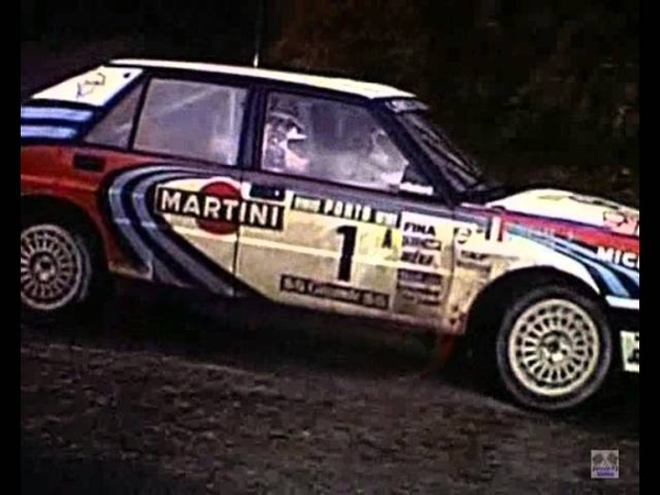 Delta Force (Tribute to Lancia Delta rally team)