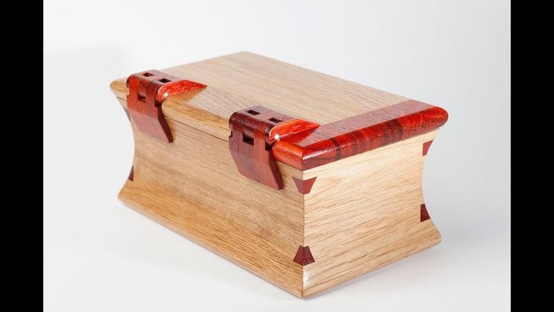 Изготовление простой шкатулки необычной формы. Making a simple box of unusual shape