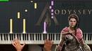 Assassin's Creed Odyssey (Main Theme) | Beautiful Piano Tutorial