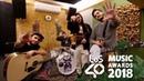 Morat premio Mejor grupo/artista Latino Los40 Music Awards
