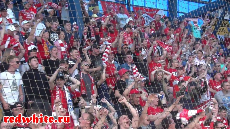 Фанаты Спартака в Оренбурге обзор трибун