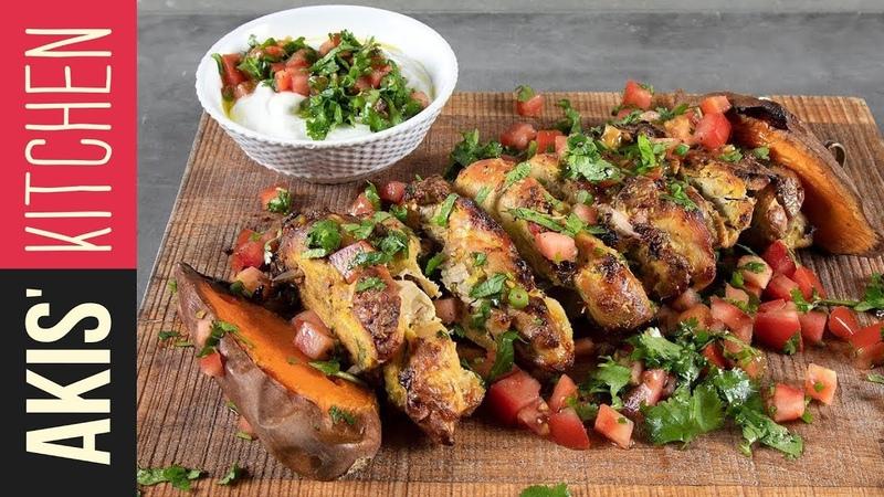 Rotisserie tandoori chicken   Akis Kitchen
