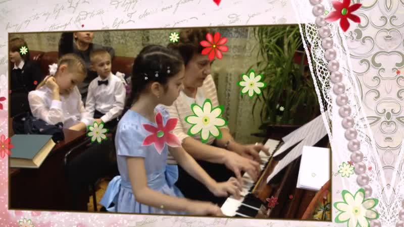 С 8 марта Чарлстон фрагмент отчетного концерта ФШИ Библиотека№23 Федюково МУК ЦБС г Подольска
