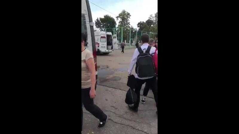 В школе №35 г. Краснодара распылили перцовый баллончик