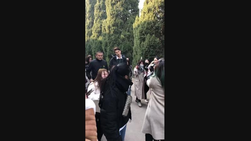 [181209] Бу Фань в Сиане cr. @Katto卜凡凡的PC
