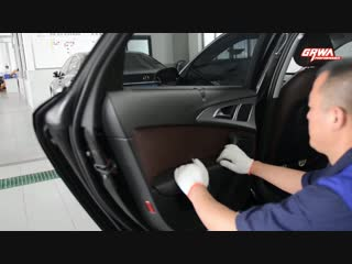Installation guide for Audi electric suction door