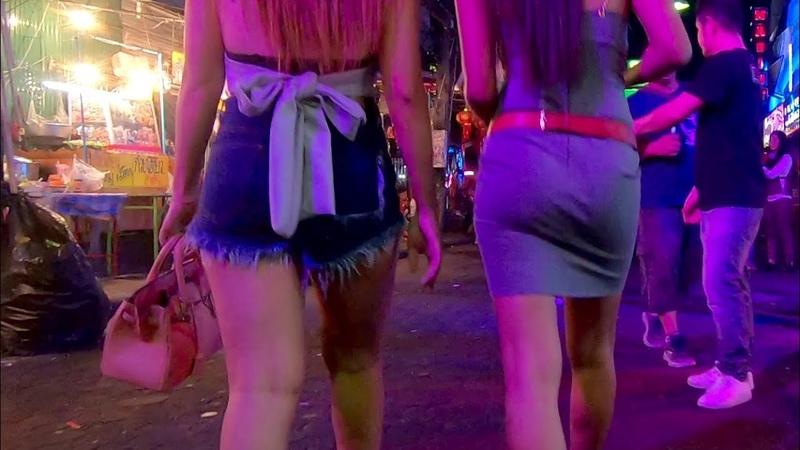 Walking Street Pattaya Nightlife Thailand