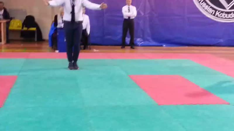 Далер Джумаев 3 й бой Финал ВС'18
