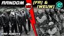 War Robots. Random vs SQUAD FR WeuW. БИТВА за Power Plant.