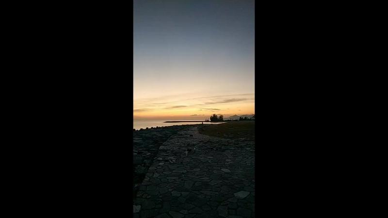 Nago Okinawa sunset