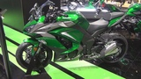 Kawasaki Z1000SX Green Emerald Blazed Grey Metallic Graphite (2019) Exterior and Interior