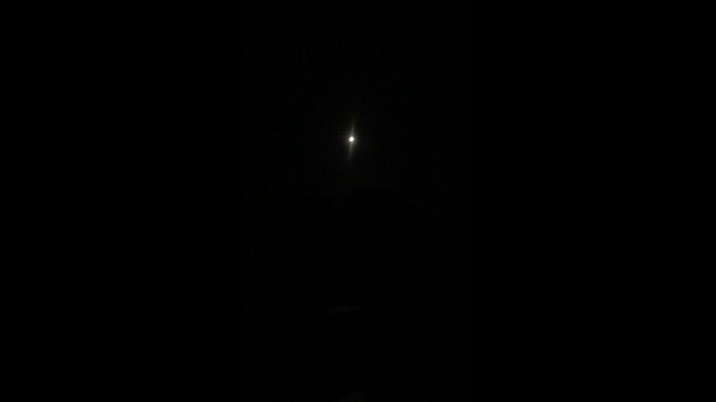 Лунное затмение Крым Аю даг