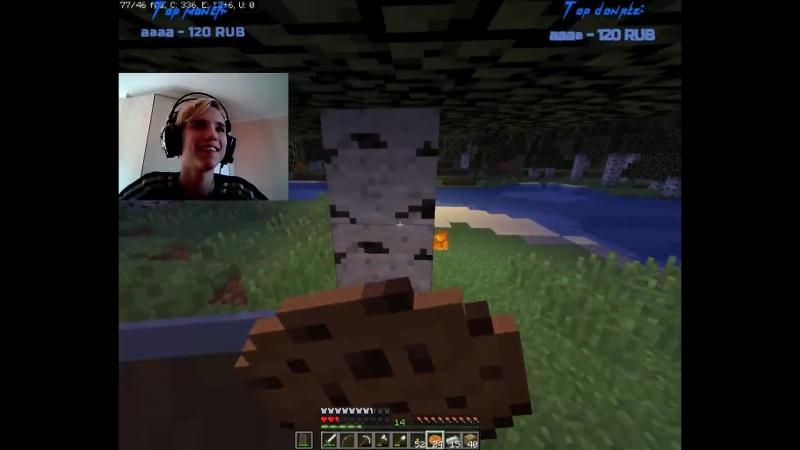 Со стрима[Minecraft] - Крыска