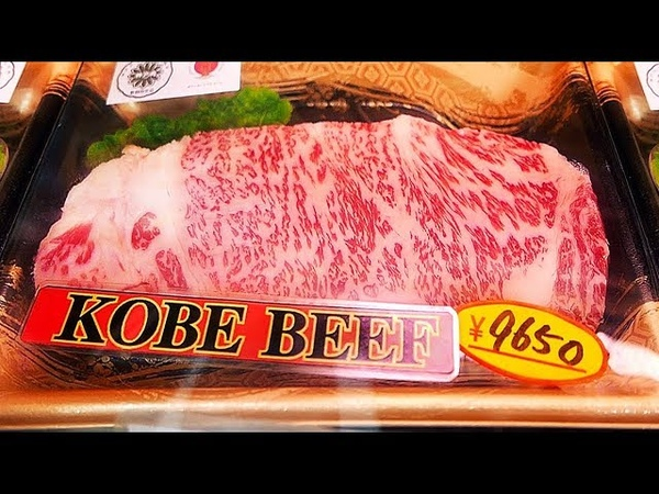 Japanese Street Food - KOBE BEEF A5 Steak Teppanyaki Osaka Japan