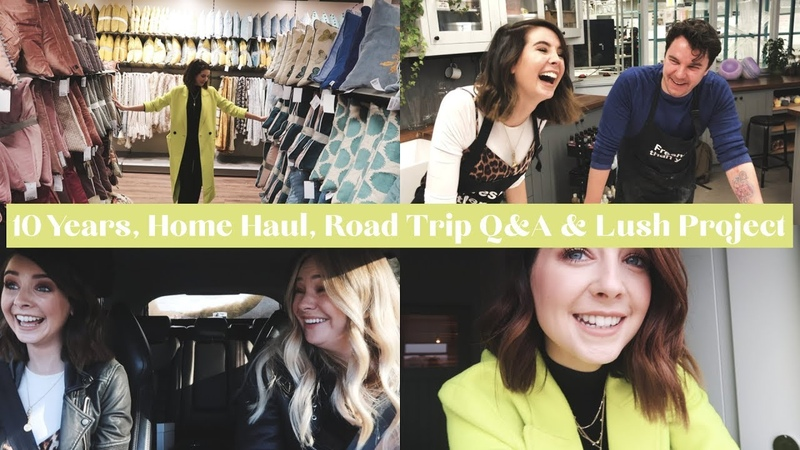 10 YEARS HOME HAUL ROAD TRIP Q A LUSH PROJECT WEEKLY VLOG AD