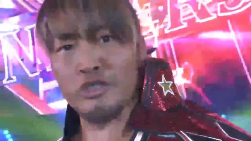 Hiroshi Tanahashi entrance Wrestle Kingdom 13