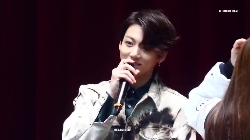Jungkook Did my voice get deeper - - Armys Yess ! - - Jungkook So can I become a radio DJ - - Then he imitated a popular radio D
