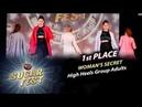 WOMAN'S SECRET 🍒 1st PLACE - HIGH HEELS GROUP ADULTS 🍒 SUGAR FEST Dance Championship