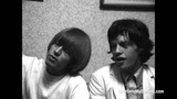 Mick Jagger, Brian Jones &amp Keith Richards at press conference (Charlie is my Darling) ABKCO Films