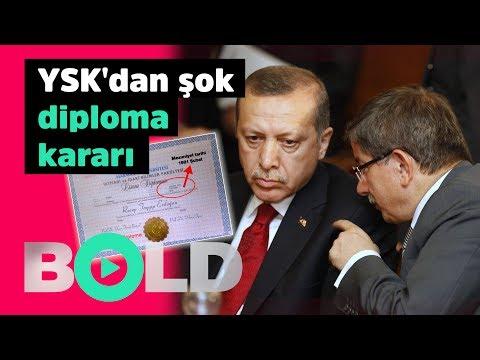 YSK'dan şok diploma kararı!   Davutoğlu Erdoğan'ı yine topa tuttu.   18 TEMMUZ BOLD CANLI YAYIN