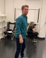 Kathryn Burns on Instagram Dance Captain @mrpetegardner showing @vrodrigueziii how its done...it being dance...duh. #crazyexgirlfriend