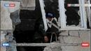 Обстрел Донецкого – прямое попадание в многоквартирный дом
