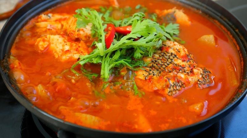 Spicy Korean Fish Stew (Maeuntang : 매운탕)
