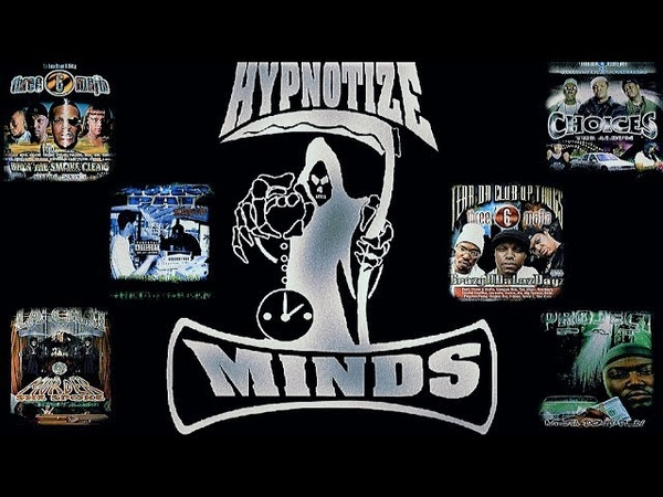 HYPNOTIZED MINDS MEGA MIX THREE 6 MAFIA PROJECT PAT LA CHAT T ROCK 1999 2001