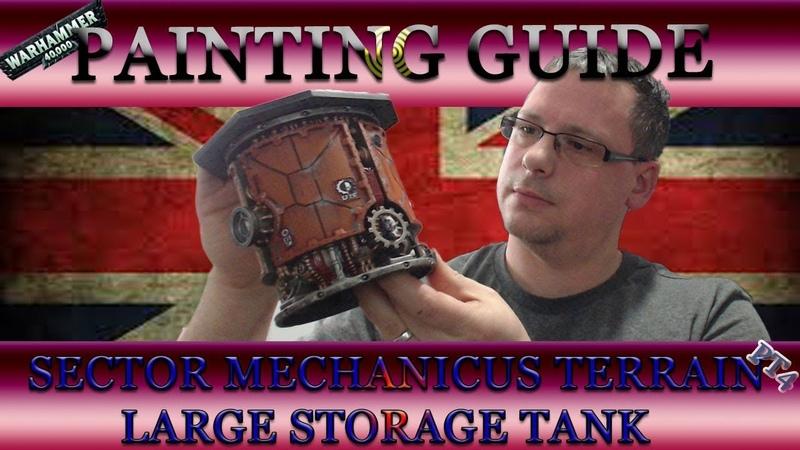 Warhammer40K: Painting Guide - Sector Mechanicus Terrain Part 4