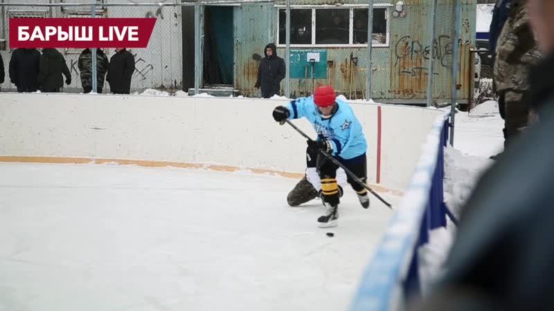 Хоккей в Барыше | Старт - Звезда | 4:1