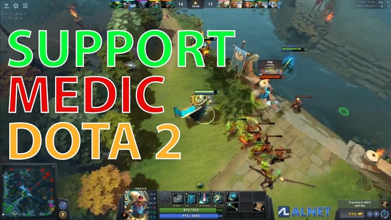 Cara Main Oracle Support DOTA 2 Pro Gameplay