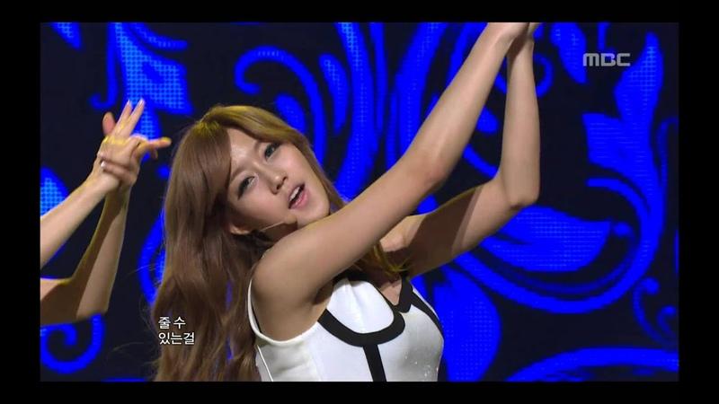 Rainbow - To me, 레인보우 - 내게로, Music Core 20110430