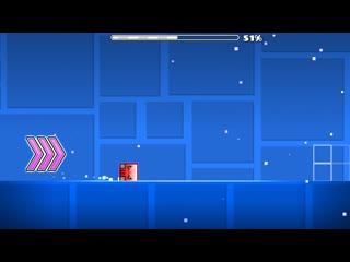 Geometry Dash - layout Blood By Megabro (me)