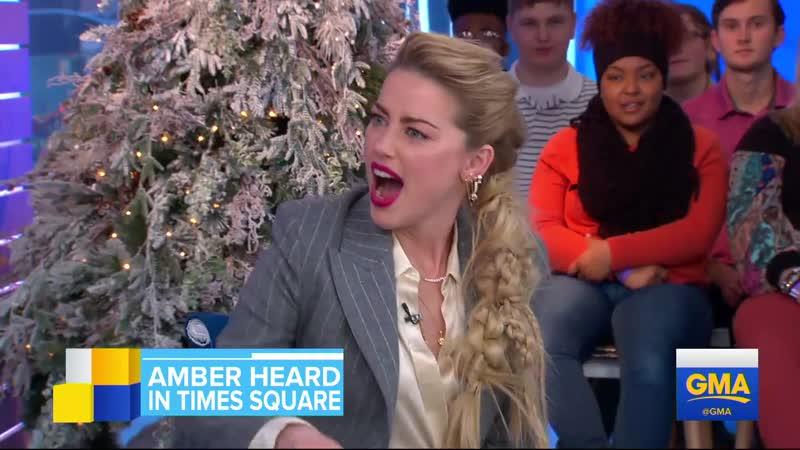 Эмбер Хёрд на шоу Good Morning America (05/12/2018)