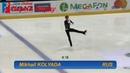 Mikhail KOLYADA RUS Short Program Ondrej Nepela Trophy 2018