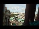 Коллонада Исаакиевского Собора. Санкт-Петербург. Вид на город